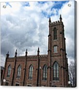 Historical 1st Presbyterian Church - Gates Avenue Se Huntsville Alabama Usa - Circa 1818 Acrylic Print