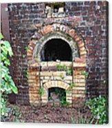 Historical Antique Brick Kiln In Morgan County Alabama Usa Acrylic Print