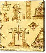 Historical Astronomy Instruments Acrylic Print