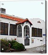 Historical Moss Beach Distillery At Half Moon Bay . 7d8168 Acrylic Print by Wingsdomain Art and Photography