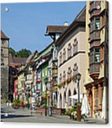 Historical Old Town Rottweil Germany Acrylic Print by Matthias Hauser