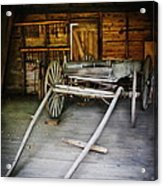 Hitch Your Wagon Acrylic Print by Colleen Kammerer