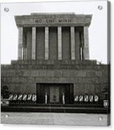 Ho Chi Minh Mausoleum Acrylic Print