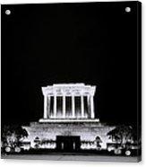 Ho Chi Minh Memorial At Night Acrylic Print