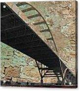 Hoan Bridge And Brick Acrylic Print