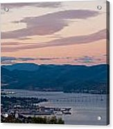 Hobart Harbour During Sunset Acrylic Print