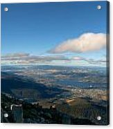Hobart Tasmania Mount Wellington Acrylic Print