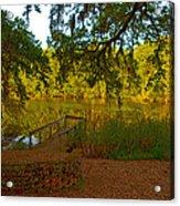 Hobcaw Barony Pond Acrylic Print