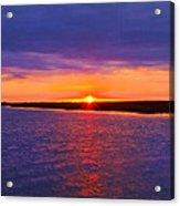 Hobcaw Barony Sunrise Acrylic Print