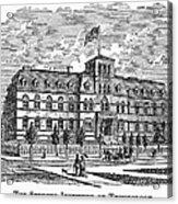 Hoboken: College, 1878 Acrylic Print
