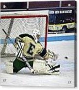 Hockey The Big Reach Acrylic Print