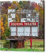 Hocking Theatre Acrylic Print