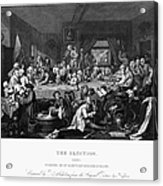 Hogarth: Election Acrylic Print