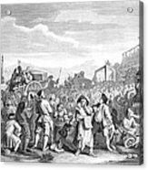 Hogarth: Industry, 1751 Acrylic Print