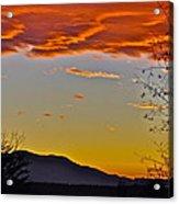 Hogback Mountain Acrylic Print
