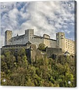 Hohensalzburg Castle Acrylic Print