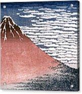 Hokusai: Fuji Acrylic Print