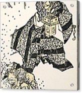 Hokusai: Setsubun, 1816 Acrylic Print