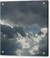 Hole In The Clouds Acrylic Print
