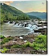 Hole In The New River Acrylic Print