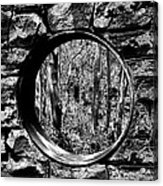 Hole In The Wall Acrylic Print