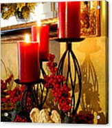 Holiday Candles Hcp Acrylic Print