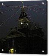 Holiday Courthouse Acrylic Print