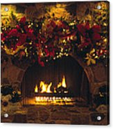 Holiday Hearth Acrylic Print