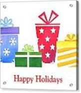 Holiday Presents Acrylic Print