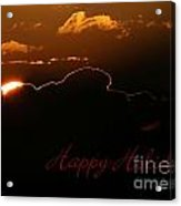 Holiday Sunrise Acrylic Print