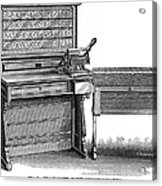 Hollerith Tabulator, 1890 Acrylic Print