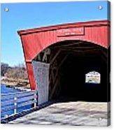 Holliwell Covered Bridge Acrylic Print