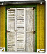 Holliwood Beach Door Acrylic Print