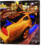 Hollywood Bumblebee Acrylic Print