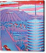 Hollywood Usa Acrylic Print