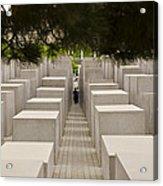 Holocaust Memorial - Berlin Acrylic Print