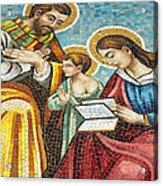 Holy Family At Catholic Church Acrylic Print