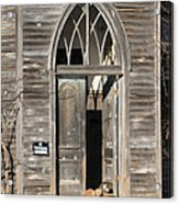 Holy Haven For Cats Acrylic Print
