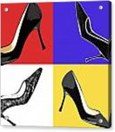 Homage To Mondrian Acrylic Print