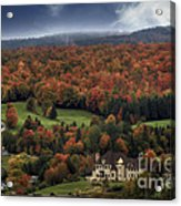 Home In Lac Megantic Acrylic Print