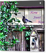 Home Sweet Home 1 Acrylic Print