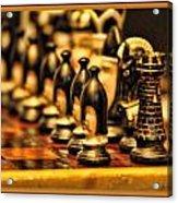 Homemade Chess Acrylic Print