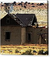 Homestead No More Acrylic Print