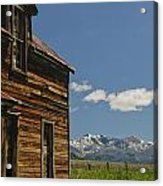 Homestead View Of The Crazy's Acrylic Print