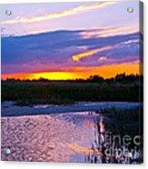 Honeymoon Island Sunset Acrylic Print