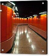 Hong Kong Subway Acrylic Print