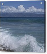 Honokohau Aloalo Aheahe D T Fleming Beach Maui Hawaii Acrylic Print