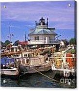 Hooper Strait Lighthouse - Fs000115 Acrylic Print