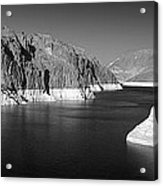 Hoover Dam Reservoir - Architecture On A Grand Scale Acrylic Print