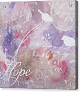 Hope Birds Acrylic Print